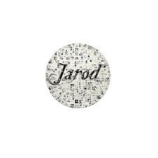 Jarod, Matrix, Abstract Art Mini Button