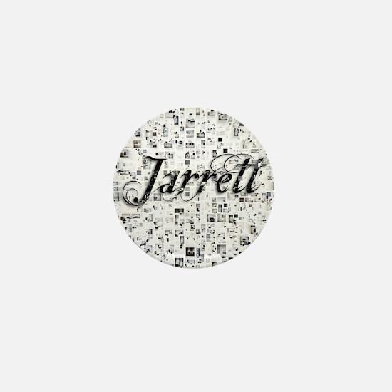 Jarrett, Matrix, Abstract Art Mini Button