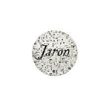 Jaron, Matrix, Abstract Art Mini Button