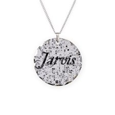 Jarvis, Matrix, Abstract Art Necklace