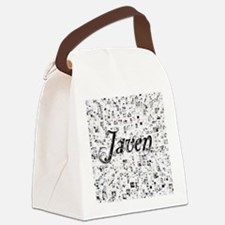 Javen, Matrix, Abstract Art Canvas Lunch Bag