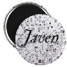Javen, Matrix, Abstract Art Magnet