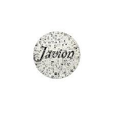 Javion, Matrix, Abstract Art Mini Button