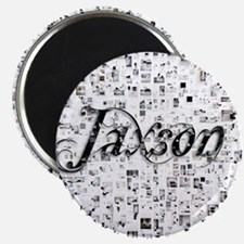 Jaxson, Matrix, Abstract Art Magnet