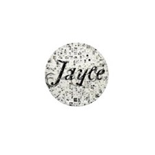 Jayce, Matrix, Abstract Art Mini Button