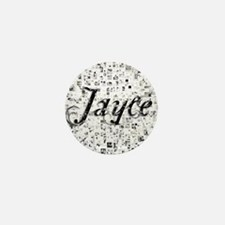 Jayce, Matrix, Abstract Art Mini Button