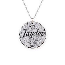 Jaydon, Matrix, Abstract Art Necklace