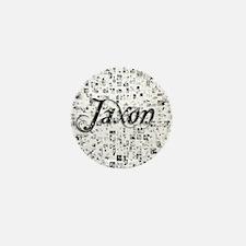 Jaxon, Matrix, Abstract Art Mini Button