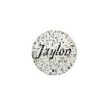 Jaylon, Matrix, Abstract Art Mini Button