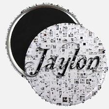 Jaylon, Matrix, Abstract Art Magnet