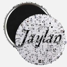 Jaylan, Matrix, Abstract Art Magnet