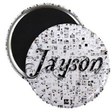 Jayson, Matrix, Abstract Art Magnet