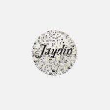 Jaydin, Matrix, Abstract Art Mini Button