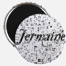 Jermaine, Matrix, Abstract Art Magnet