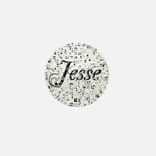 Jesse, Matrix, Abstract Art Mini Button