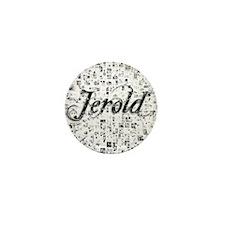 Jerold, Matrix, Abstract Art Mini Button