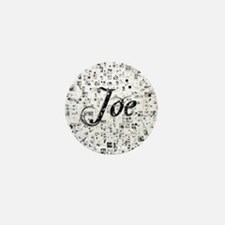 Joe, Matrix, Abstract Art Mini Button