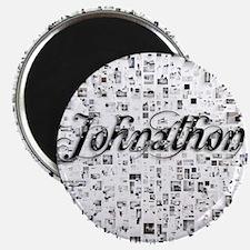 Johnathon, Matrix, Abstract Art Magnet