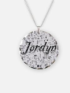 Jordyn, Matrix, Abstract Art Necklace