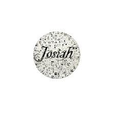 Josiah, Matrix, Abstract Art Mini Button