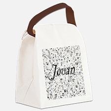 Jovan, Matrix, Abstract Art Canvas Lunch Bag