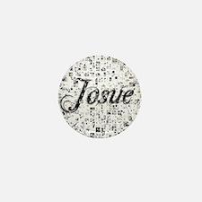 Josue, Matrix, Abstract Art Mini Button