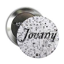 "Jovany, Matrix, Abstract Art 2.25"" Button"