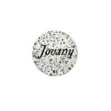 Jovany, Matrix, Abstract Art Mini Button