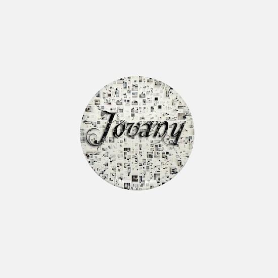 Jovany, Matrix, Abstract Art Mini Button