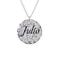 Julio, Matrix, Abstract Art Necklace