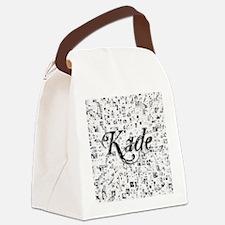 Kade, Matrix, Abstract Art Canvas Lunch Bag