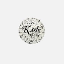 Kade, Matrix, Abstract Art Mini Button