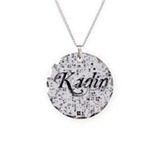 Kadin, Matrix, Abstract Art Necklace