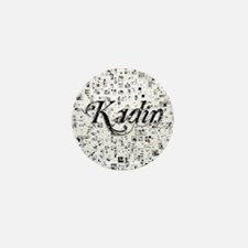 Kadin, Matrix, Abstract Art Mini Button