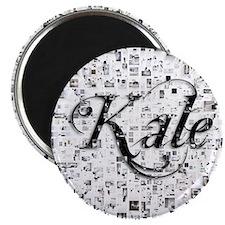 Kale, Matrix, Abstract Art Magnet