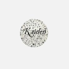 Kaiden, Matrix, Abstract Art Mini Button