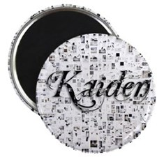Kaiden, Matrix, Abstract Art Magnet