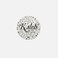 Kaleb, Matrix, Abstract Art Mini Button