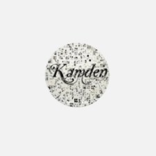 Kamden, Matrix, Abstract Art Mini Button