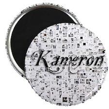 Kameron, Matrix, Abstract Art Magnet