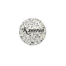 Kameron, Matrix, Abstract Art Mini Button