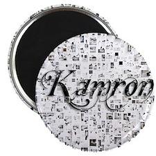 Kamron, Matrix, Abstract Art Magnet