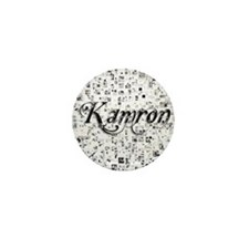 Kamron, Matrix, Abstract Art Mini Button
