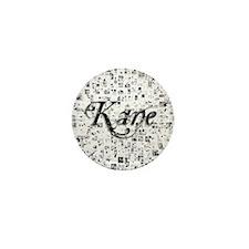 Kane, Matrix, Abstract Art Mini Button