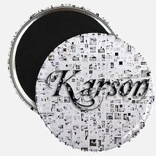 Karson, Matrix, Abstract Art Magnet