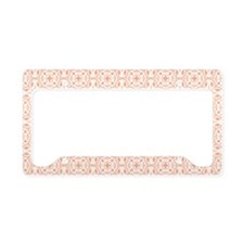 Amara Salmon Toiletry Bag License Plate Holder