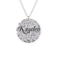 Kayden, Matrix, Abstract Art Necklace
