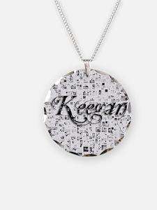 Keegan, Matrix, Abstract Art Necklace