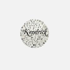 Kendrick, Matrix, Abstract Art Mini Button
