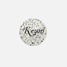 Keyon, Matrix, Abstract Art Mini Button
